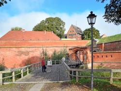 Festung Dömitz mit Eingangstor