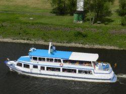 Schifffahrt auf der Elbe mit der Reederei Heckert ab Dömitz