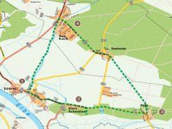 Radweg Dünentour Dömitz-Klein Schmölen-Polz-Reuterstein-Neu Kaliß-Dömitz