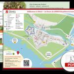 Stadtkarte von Dömitz (A4)